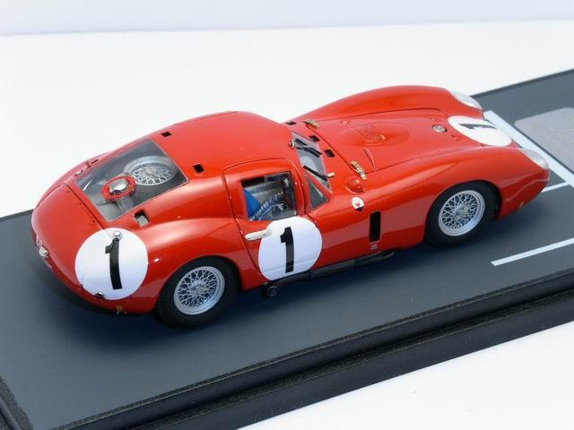 Maserati 450 S 24H Le Mans Moss Schell 1957 Race Car 1//43 Modellcarsonline M